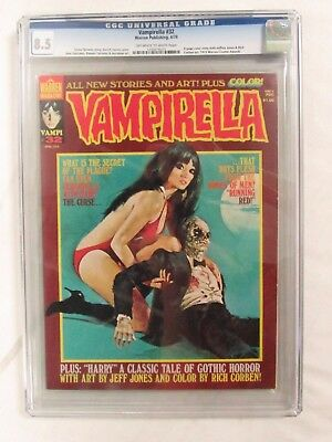 Vampirella #32 (1974) CGC 8.5 Warren Publishing Magazine CJ73