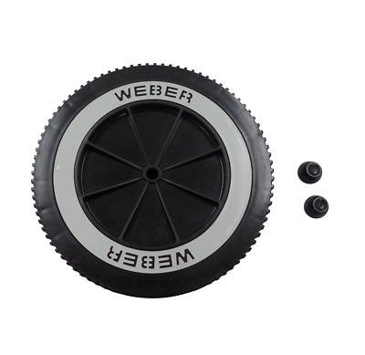 """Weber 65930 6"""" Replacement Wheel for Charcoal Grills"""