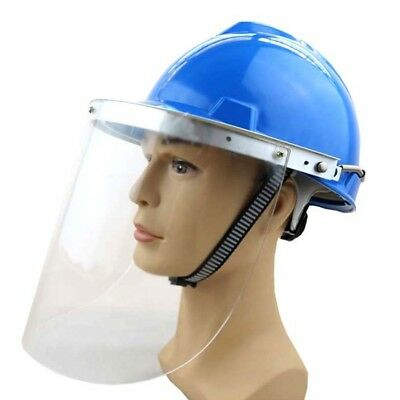 Protector Hard Hat Safety Helmet Heat Resistant Face Shield Working Builders