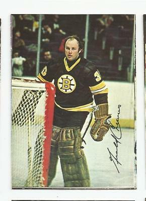 1977-78 Opc Glossy Square #2/22 Gerry Cheevers Boston Bruins O-Pee-Chee