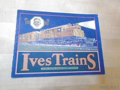ORIGINAL  1926 Ives Toy Trains Catalog - Great Condition