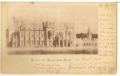 ABERCAIRNAY ABBEY  VIGNETTE posted 1901