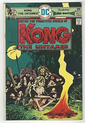 Kong The Untamed 2! G/vg 3.0! Cool Bronze Age Dc Comic Book!
