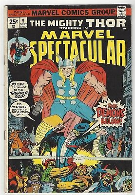 Marvel Spectacular 9! Vg-  3.5! Thor! Great Bronze Age Marvel Book!