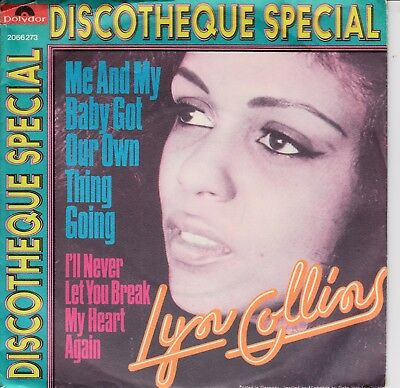 """7""""-  Lyn Collins = Me And My Baby Got Our Own Thing Going .............1972"""