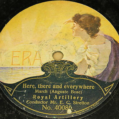 "Mr. E. C. STRETTON & ROYAL ARTILLERY ""Here, there and everywhere"" ERA 78rpm"