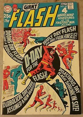 Flash #187 Fi/vf 80 Page Giant