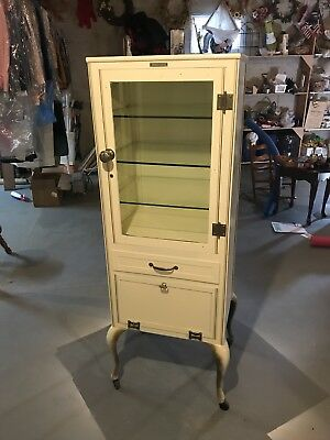 Beautiful Wocher and Son 1930'3 Medical / Dental   Cabinet