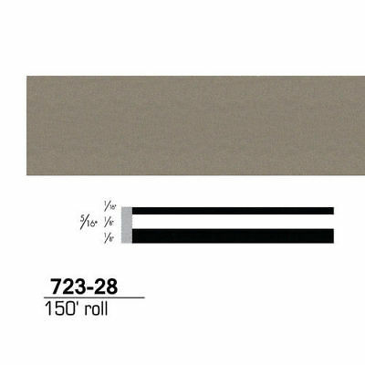 3M Scotchcal Striping Tape, Pewter, 5/16 in. x 150 ft. 72328 new