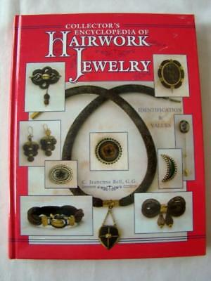 1998 Collector's Encyclopedia of HAIRWORK JEWELRY Book: Identification & Values