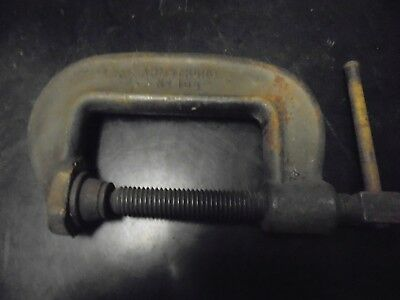 Armstrong NO. 103 C-Clamp Full Screw complete and in working order