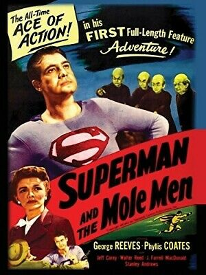 Superman & The Mole Men [New DVD]