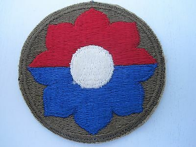 """WW II US ARMY 9th INFANTRY """"OLD RELIABLES""""  DIVISION A MINT VINTAGE ORIGINAL !!!"""
