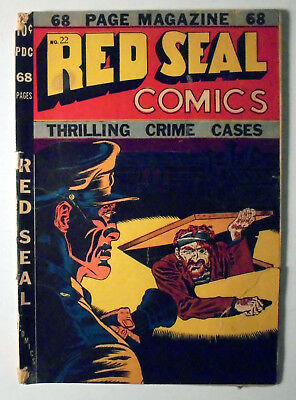 Red Seal Comics #22 Golden Age Superior Comic Book 1947 GD/VG