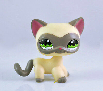 Pet Short Hair Cat Collection Child Girl Boy Figure Littlest Toy Loose  LPS803