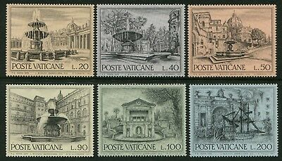 European Architectural Heritage Year 1975 - Mnh Set Of Six (B251)