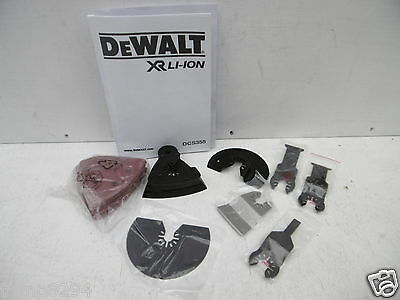 Dewalt 32Pce Set Of Accessories Taken From A Dcs355 Oscillating Multi Tool