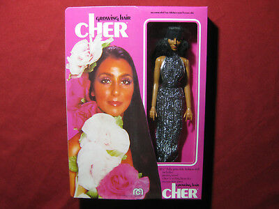 "1976 Mego Cher Growing Hair SEALED Vintage Doll Figure Boxed 12"" Sonny MIB MISB"