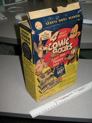 cereal box 1947 Donald Duck Atomic Bomb Cheerios Disney comic book,Brer Rabbit