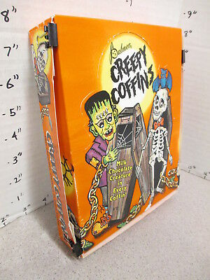 candy box Palmer '80s CREEPY COFFINS store display Frankenstein monster skeleton