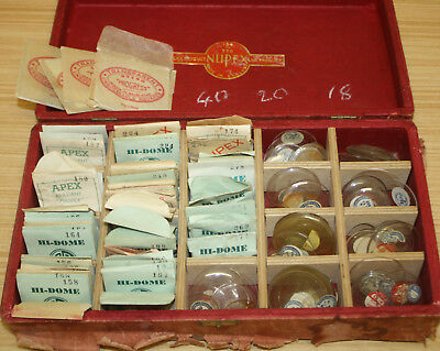 Bulk Lot Of Vintage Watch Glass & Crystals - Hi-Dome, Apex, Nupex, Progress