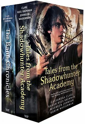 The Bane Chronicles Series 2 Books Collection Set Shadowhunter Academy Pack  NEW
