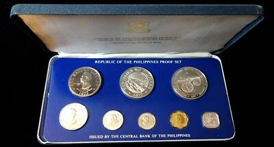 Philippines, 1977 8 Coin Proof Set KM#PS11