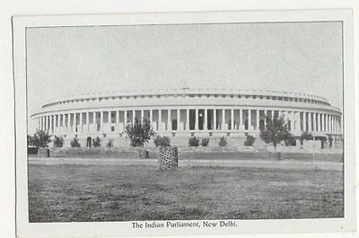 India, The Indian Parliament New Delhi Postcard, B224
