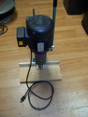 Multico Pm 12 Hollow Chisel Mortiser The Original Bench Top Square Hole Machine