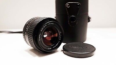 CARL ZEISS JENA MC 28MM 2.8 Wide Angle Lens for Praktica B PB Bayonet fit