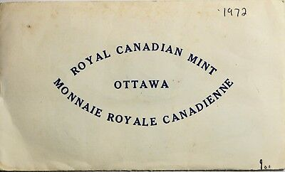 1972 Royal Canadian Mint 6-Coin Proof Like Uncirculated Set