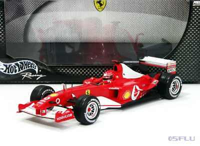 Hot Wheels 1:18 B1023 FERRARI F1 F2003-GA - Michael Schumacher - NEU!