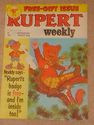 RUPERT BEAR WEEKLY COMIC NO.16 DATED 2nd FEBRUARY 1983