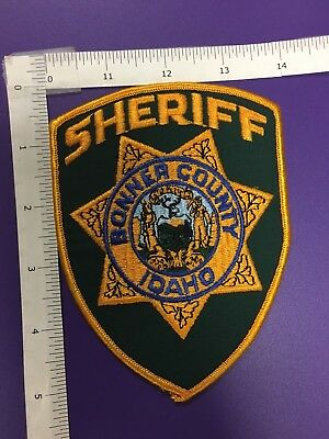 Bonner County Idaho  Police  Shoulder Patch