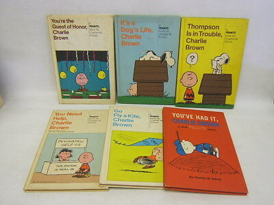 Lot of 6 Charlie Brown books: You're the Guest of Honor, You've Had It ...GC