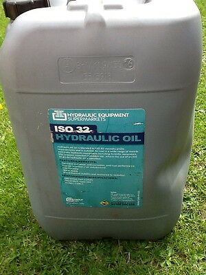 150 litres of used Hydraulic Oil. ISO 32