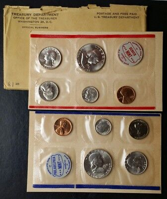 1961 United States Mint Uncirculated Set of Coins