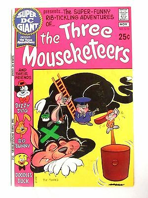 Super DC Giant #S-18 Three Mouseketeers Nice F/VF 7.0 FC220