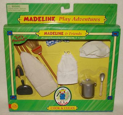 """Madeline 8"""" Doll COOKING & CLEANING PLAY ADVENTURE Set"""
