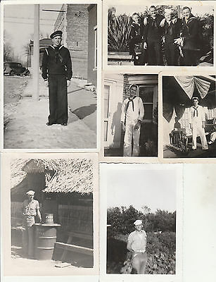 1920's -1970's Vintage photo lot x 33.Sailor.Military.Men. Navy.Naval.Sailors