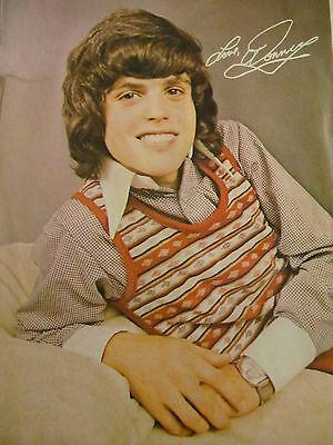 Donny Osmond, The Osmonds, Full Page Vintage Pinup