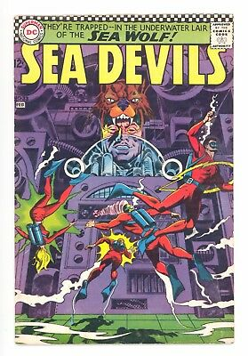 SEA DEVILS #33  DC 1967 - Howard Purcell & Jack Adler Art - FN