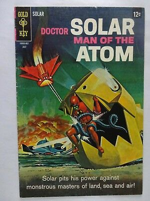 Doctor Solar, Man of the Atom #24   The Deadly Trio   Gold Key