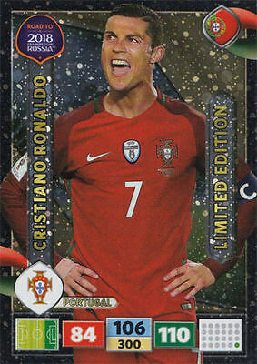 *ronaldo *limited Edition *road To Russia 2018 *panini Adrenalyn Xl World Cup