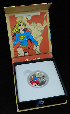 2015 Canada 10$ Dollars Fine Silver Coin Dc Comics Original Strength