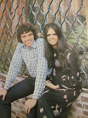 Jay and Marie Osmond, The Osmonds, Full Page Vintage Pinup