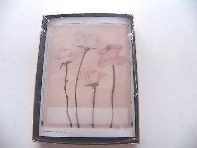 Antioch Bookplates ~ Box of 24 ~  Rose Floral Motif