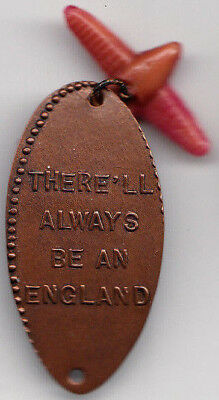 Elongated coin - There'll Always Be An England - WW2 London - M&D England-1., R7
