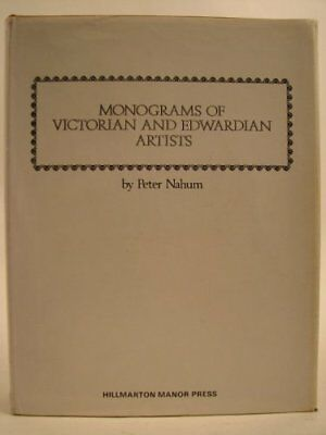 Monograms of Victorian and Edwardian Artists Hardback Book The Cheap Fast Free