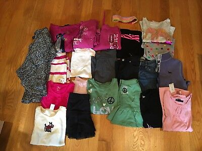 NWTS/EUC Girls Fall/Winter lot of 22 clothes size 7 & 8 Gymboree, Gap Kids